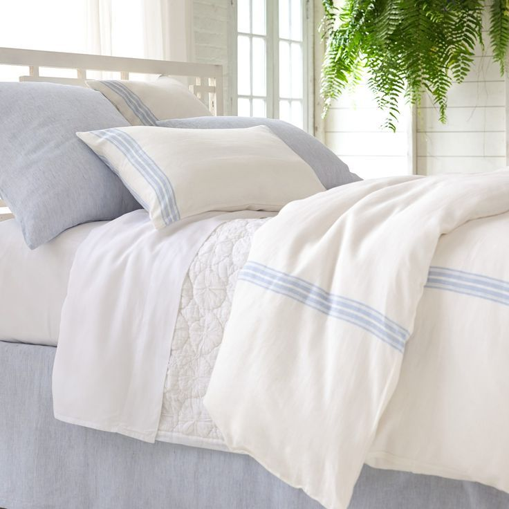 Image result for pine cone hill bedding french blue