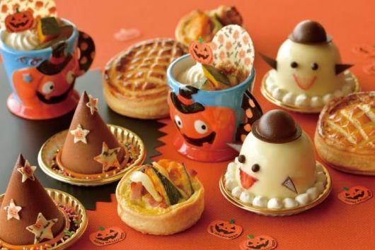 【期間限定】舞浜「シェラトンホテル」のハロウィーン・スイーツにワクワク♪ ゴーストや魔女の帽子型のケーキが登場するよ!