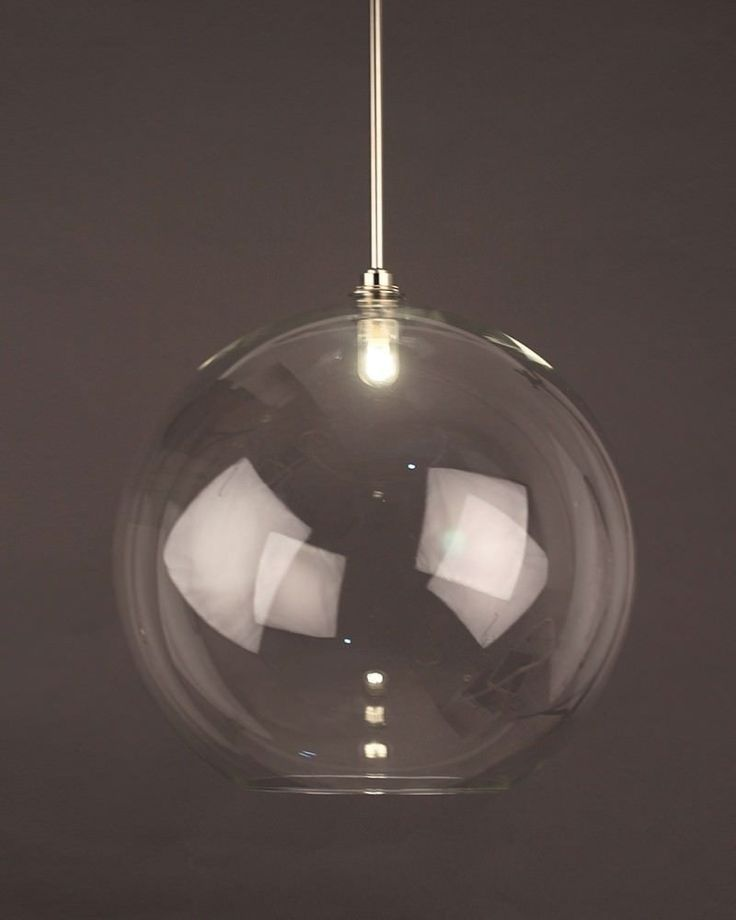 Clear Globe Pendant Bathroom Ceiling Light Hereford Retro Contemporary Design Ip44 Rated