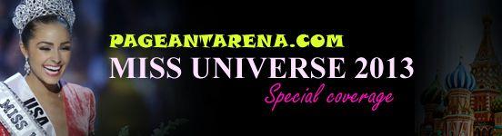 Pageantarena.com MISS UNIVERSE 2013 Special Coverage! #MissUniverse2013 #MissUniverse