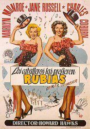 Los Caballeros Las Prefieren Rubias (1953) de Howard Hawks -