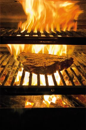 Hawksmoors Josper oven ensures the steak they serve is always perfectly cooked to order and with a smoky crust to boot