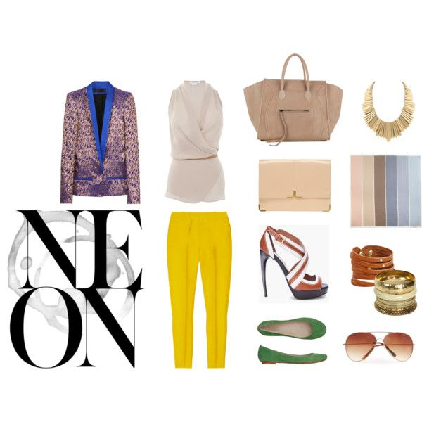 Spring work wear, created by little-bennet on Polyvore