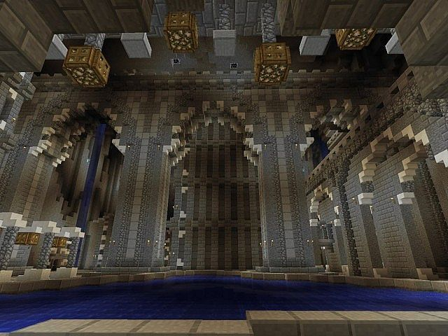 Medieval castle and village minecraft building ideas for Castle interior designs