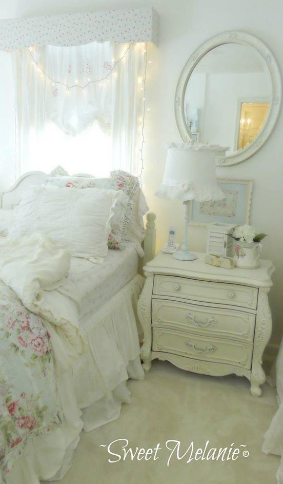 457 best shabby chic bedroom images on pinterest - Habitaciones shabby chic ...