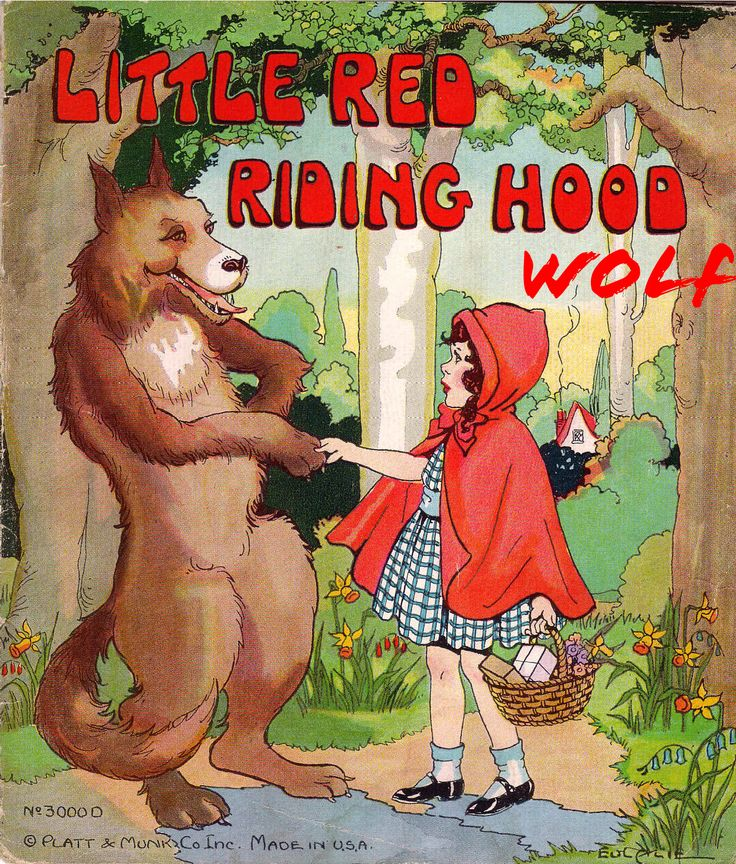 The Little Red Riding Hood Wolf