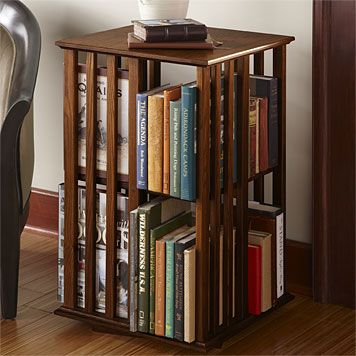 Style Meets Function In Our Versatile Revolving Bookcase Table. Our Handy Revolving  Bookcase Table Allows You To Store More Books In Less Space, ...