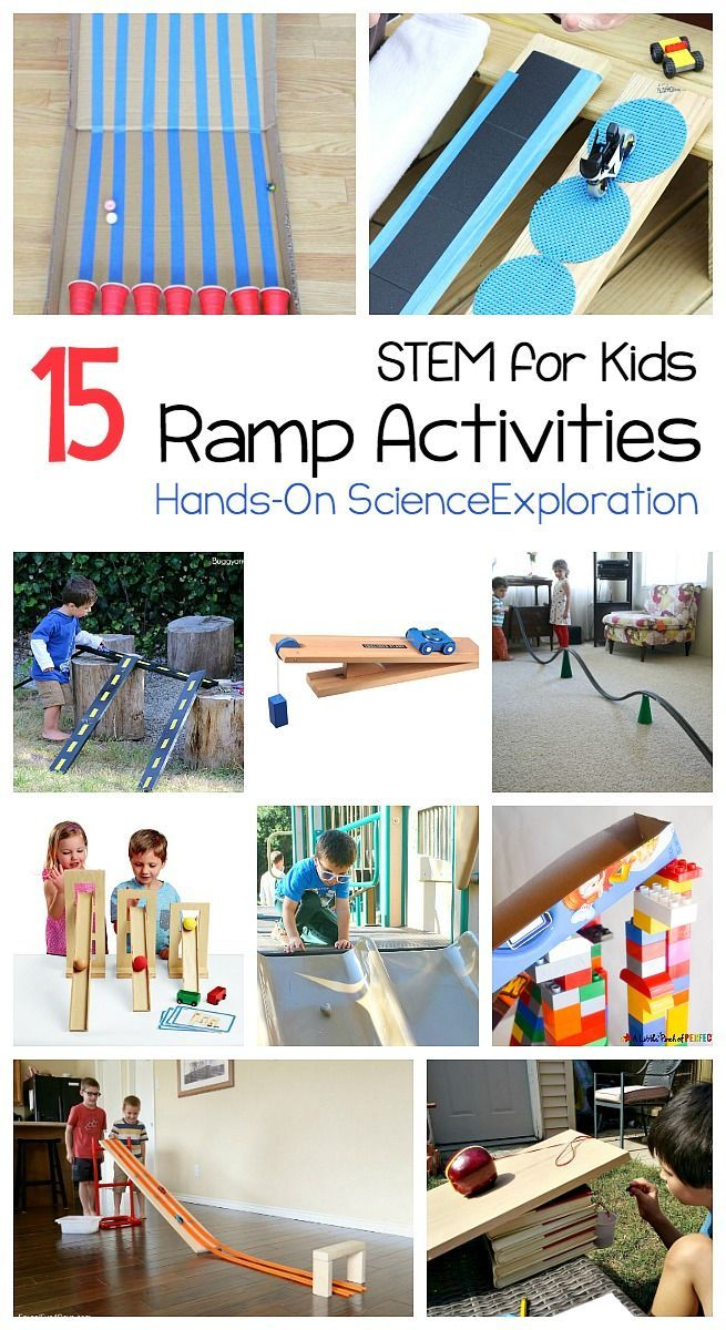 15 Ways for Kids to Explore Ramps and Inclined Planes