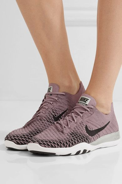 4b0c3dc534fd Yoga Clothes   Nike Free Tr 2 Bionic Flyknit Sneakers Violet tumblr.com