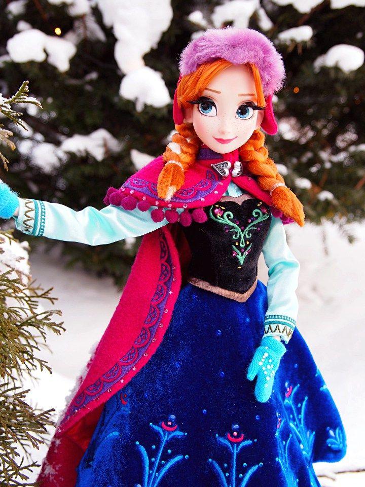 Limited Edition Snow Gear Anna Doll - Disnerd dreams
