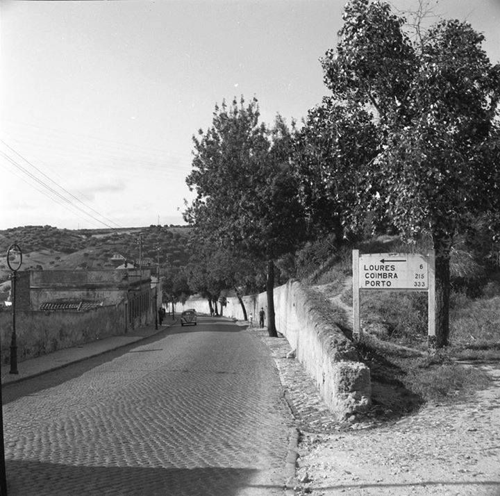 1963, Calçada de Carriche, Lisbon, now is a very big avenue