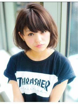 Lovely hair style.
