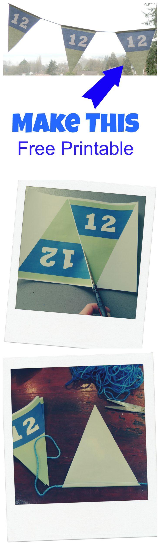 Seahawks 12th Man |Free Printable | Premier Residential
