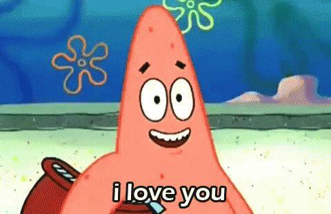 ILove You Patrick GIF - ILoveYou Patrick Star - Discover & Share GIFs