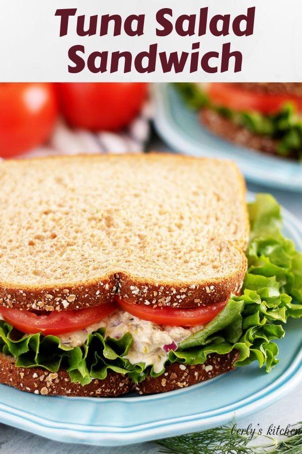 Tuna Salad Sandwich Recipe Tuna Salad Sandwich Classic Tuna Salad Delicious Sandwiches