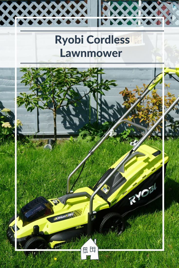 The Ryobi Cordless Lawnmower is a great cordless lawnmower which does a great job at cutting the lawn, safe to use and super lightweight too