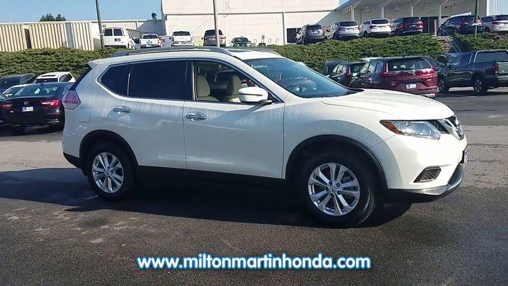 USED 2016 NISSAN ROGUE FWD 4DR SV at Milton Martin Honda  #34729A