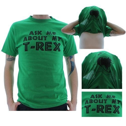 Mens Ask Me about My T-Rex T-Shirt Tee Funny Graphic Tee Green Size S Moda Essentials,http://www.amazon.com/dp/B00CX7GNO0/ref=cm_sw_r_pi_dp_WC2Rrb0F96AB4787