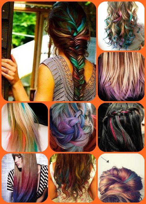 Soledad Cabello: Hair Chalking o cómo hacer mechas de colores divertidos