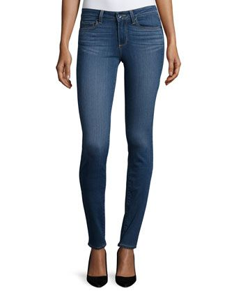 Try?  Comfy and stretchy?  $190.  Verdugo+Ultra+Skinny+Jeans,+Sutton+by+Paige+Denim+at+Neiman+Marcus.