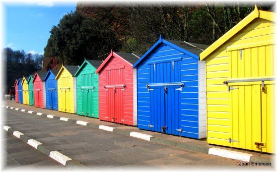 beach huts always have that summer feel