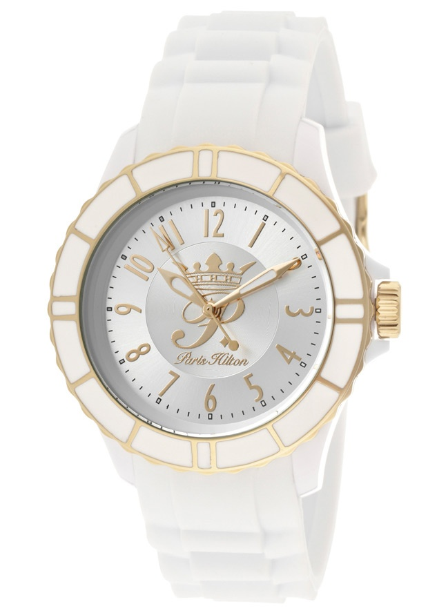 Price:$45.00 #watches Paris Hilton PH13525JPWHG-04, With designs that embody the effortlessly chic and carefree nature of Paris herself, the Paris Hilton timewear collection offers trend setting designs to suit any occasion.
