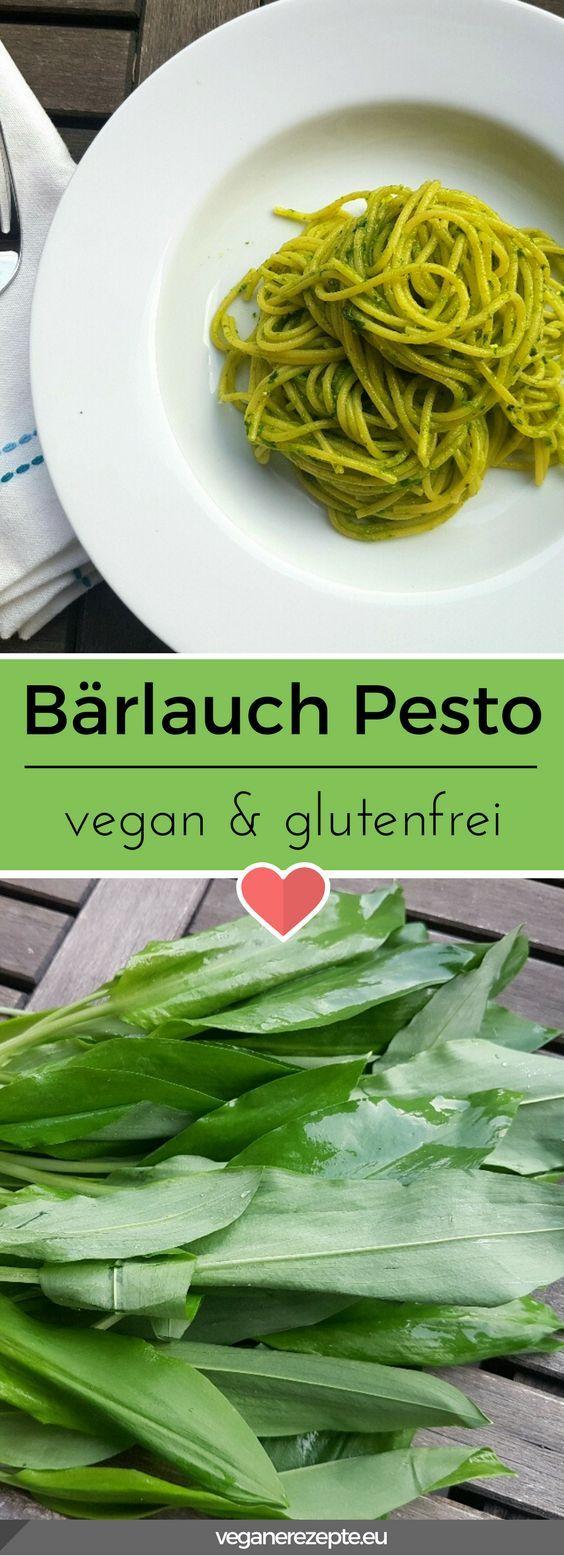 Bärlauch Pesto (Vegan Dip)