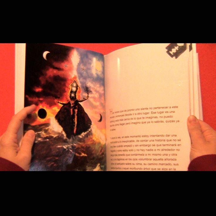 """Libro Edicion Especial """"El Santuario que Arde"""" de Hernán Ergueta #hernanergueta #ilustracion #cuentos"""