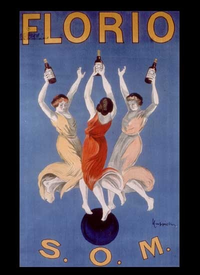 Florio Marsala has lifted these ladies to the heavens. At least, I think that's what it means.