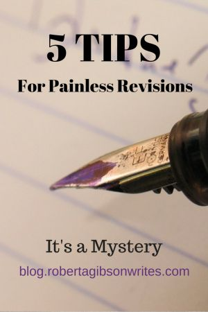 You've blasted out the first draft draft of your novel and have patted yourself on the back for a job well done. But is it done? Looming large is the abyss known as revisions.   Here are five tips for getting the most out of revisions as painlessly as possible. Get fresh eyes on …