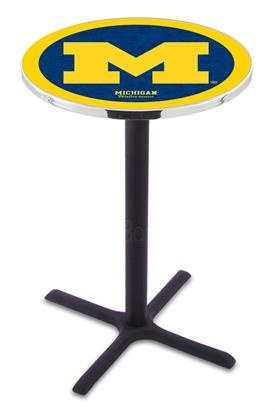 University of Michigan X-Base Bar Table.  For the Bar