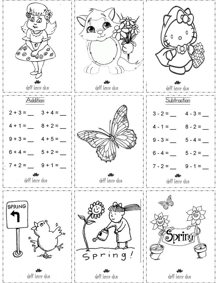 AG Doll School Printables | Printable Colouring Pages for 18 inch dolls | Doll House Diva