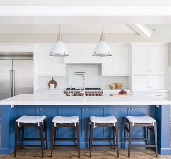 Farrow & Ball Stiffkey Paired With White Can Are The
