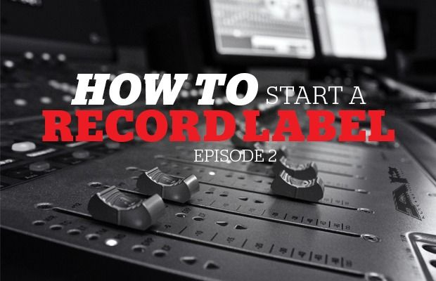 how to run a record label