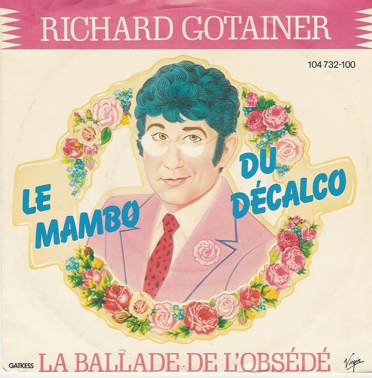 Cover Richard Gotainer - Le mambo du décalco