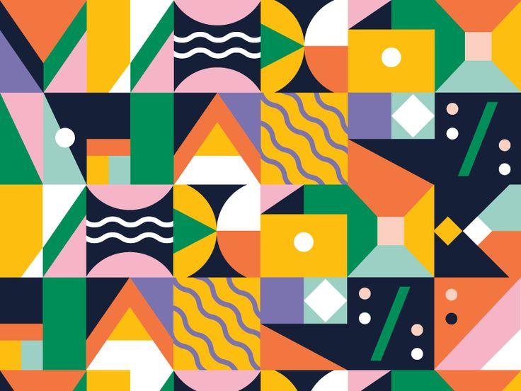 Block Patterns 2 by Moni
