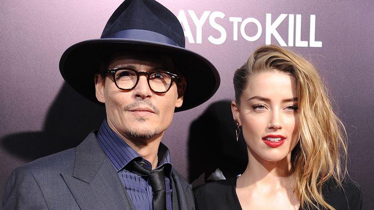 Johnny Depp casa de novo, com atriz 23 anos mais nova - Entretenimento - Notícia - VEJA.com