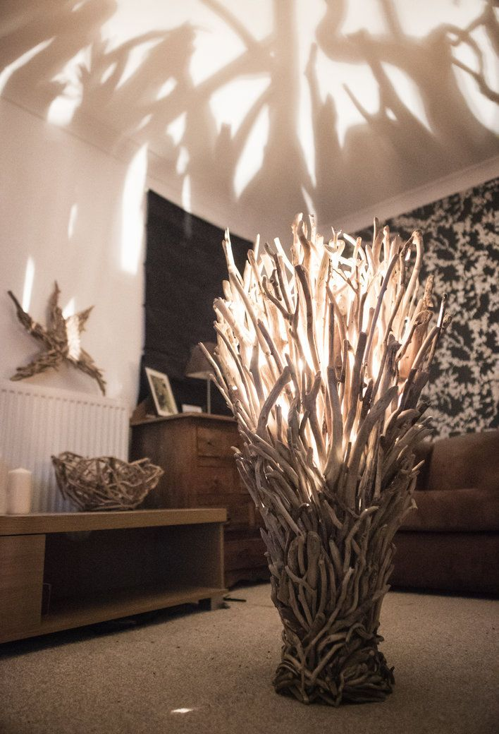 Driftwood Floor Lamp wide                                                                                                                                                                                 More