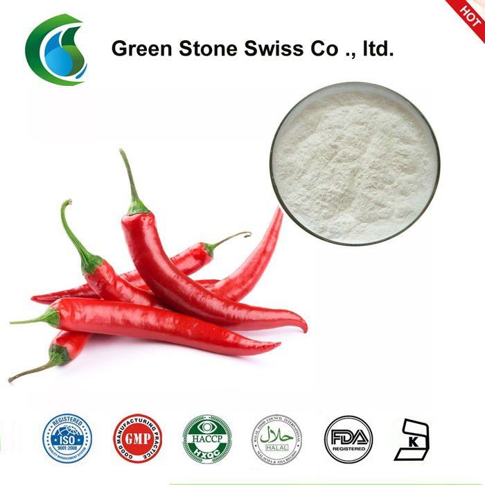 Chili pepper extract / Capsaicine-Capsaicine is the active component of chili peppers, which are plants belonging to the genus Capsicum. It is an irritant for mammals, including humans, and produces a sensation of burning in any tissue with which it comes into contant. Capsaicin and several related compounds are called capsaicinoids and are produced as a secondary metabolite by chili peppers, propably as deterrents against certain herbivores and fungi. Pure capsaicin is a hydrophobic…
