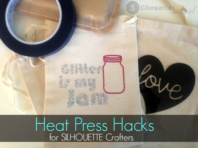 Heat Press Hacks for Silhouette Users