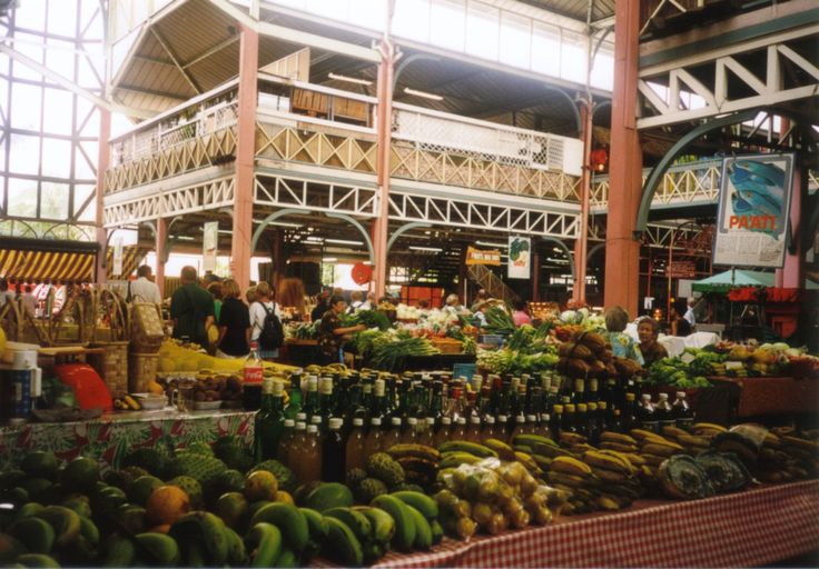 Markthalle in Papeete