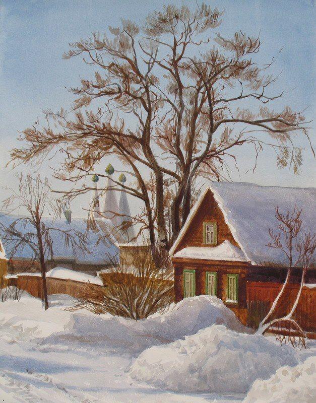 Зимний Углич