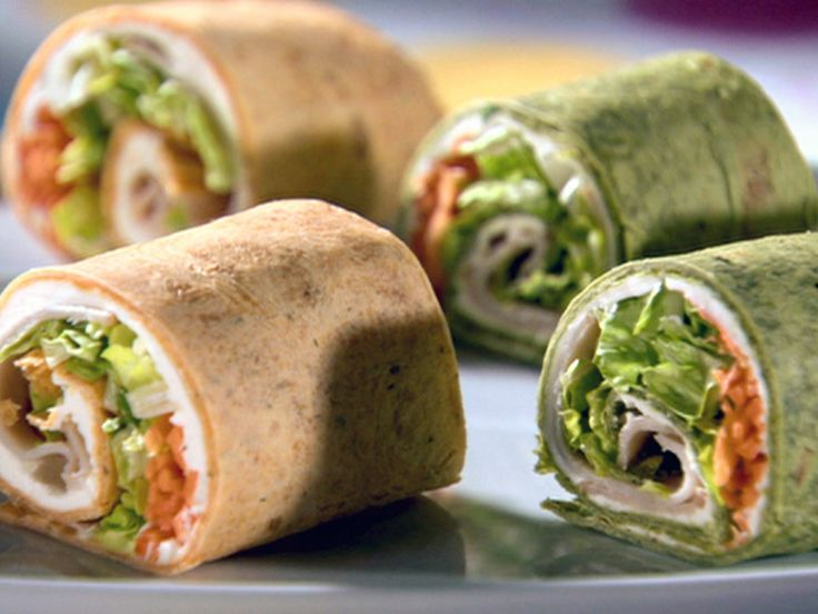 Turkey Pin Wheels Recipe : Sandra Lee : Food Network - FoodNetwork.com