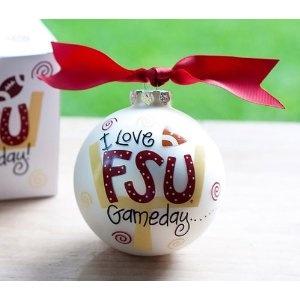 FSU Gameday Christmas Ornament