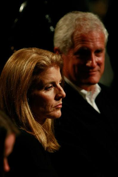 Caroline Kennedy and Edwin Schlossberg