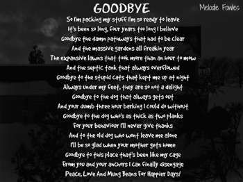 """Goodbye"" #Creative #Art in #poetry @Touchtalent http://bit.ly/Touchtalent-p"