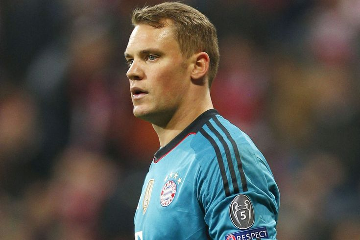 Manuel Neuer, Bayern Munich goalkeeper in 2014-2015