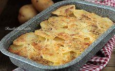 Patate alla romana, ricetta gustosa con le patate cotte al forno