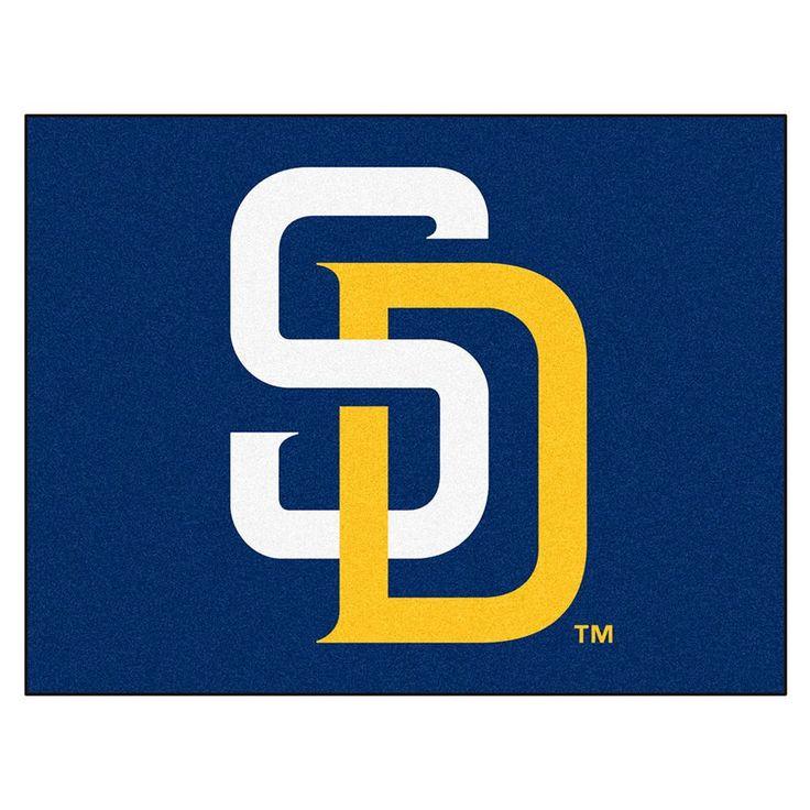 San Diego Padres MLB All-Star Floor Mat (34x45)