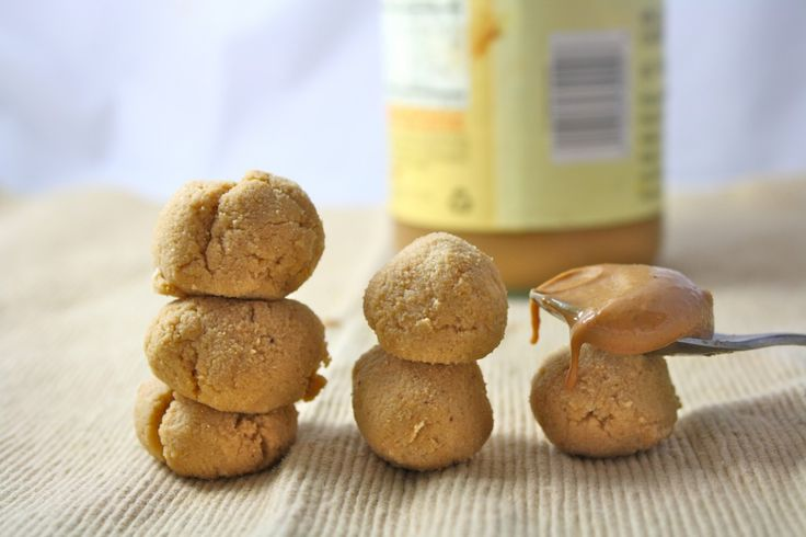 1 minute peanut butter cookie dough balls with only 10 calories a ball!